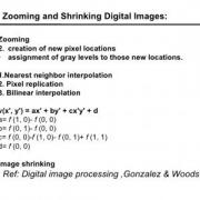 shrinking و zooming