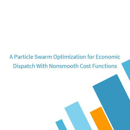 A Particle Swarm Optimization for Economic Dispatch With Nonsmooth Cost Functions