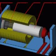 شبیه سازی رفتار یک رله مغناطیسی با متلب