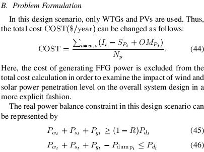 PSO Parameters