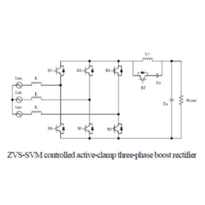Soft Switching Condition Analysis for a Novel ZVS SVM Controlled Three-Phase Boost PFC Converter