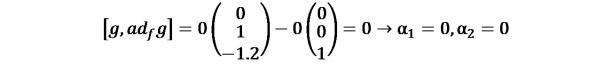 KutoolsEquPic:[?,〖??〗_? ?]=0(0¦█(1@−1.2))−0(0¦█(0@1))=0→α_1=0,α_2=0