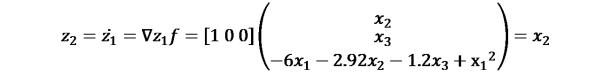 KutoolsEquPic:?_2=(?_1 )̇=∇?_1 ?=[1 0 0](?_2¦█(?_3@−6?_1−2.92?_2−1.2?_3+〖x_1〗^2 ))=?_2