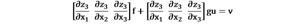 KutoolsEquPic:[(∂?_3)/(∂x_1 ) (∂?_3)/(∂x_2 ) (∂?_3)/(∂x_3 )]f+[(∂?_3)/(∂x_1 ) (∂?_3)/(∂x_2 ) (∂?_3)/(∂x_3 )]gu=v