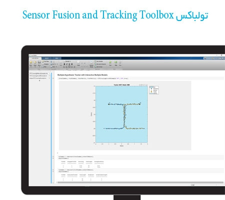 تولباکس Sensor Fusion and Tracking Toolbox