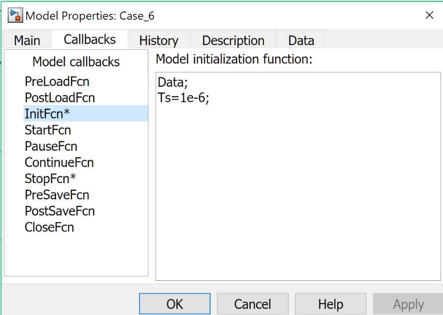گزینههای Model Properties