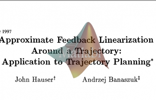 Approximate Feedback Linearization Application to Trajectory Planning