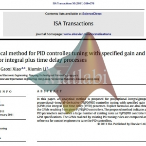 An analytical method for PID controller tuning with specified gain and phase margins for integral plus time delay processes