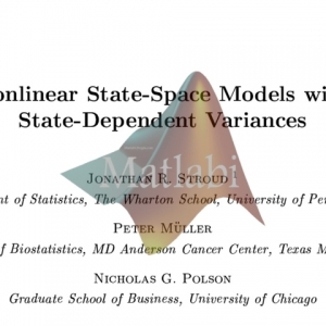 nonlinear state space model state dependence variance