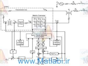 P-Q Control Matrix Converter Based UPFC By Direct Power Control Method