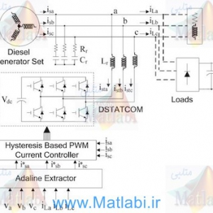Load Compensation for Diesel Generator-Based Isolated Generation System Employing DSTATCOM