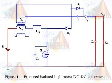 High step-up isolated efficient single switch DC-DC converter for renewable energy source