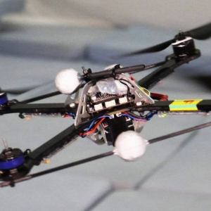 Stability and control of a quadrocopter despite the complete loss of one, two, or three propellers
