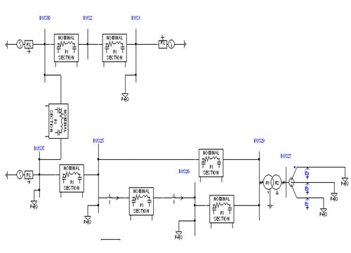 Network Modeling for Digital Simulation of Switching Transients