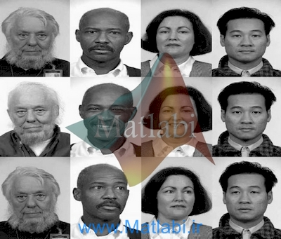 Selection and fusion of facial features for face recognition