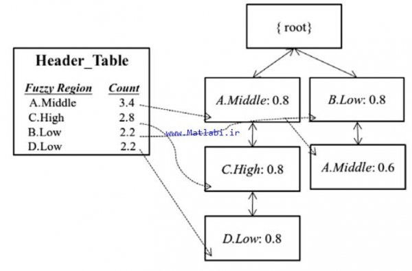 Linguistic data mining with fuzzy FP-trees
