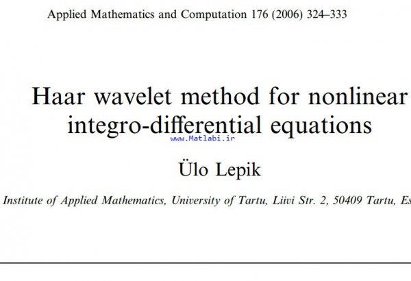 Haar wavelet method for nonlinear integro-differential equations