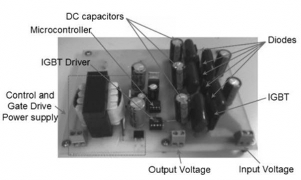 A DC – DC multilevel boost converter
