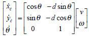 معادلات سینماتیکی این ربات