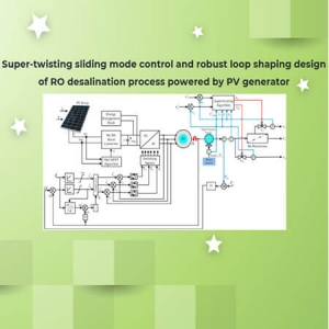 Super-twisting sliding mode control and robust loop shaping design of RO desalination process powered by PV generator