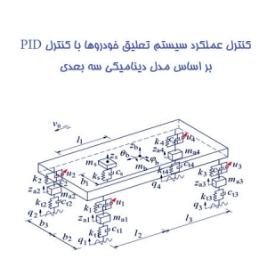 کنترل عملکرد سیستم تعلیق خودروها با کنترل PID بر اساس مدل دینامیکی سه بعدی